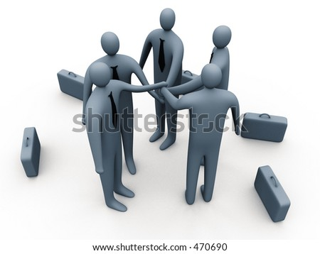 Determined to succeed - stock photo