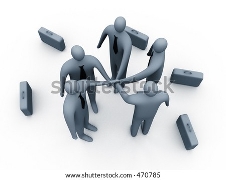 Determined to succeed #2 - stock photo