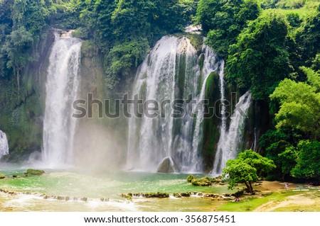 Detian Waterfall - stock photo