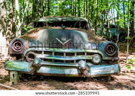 DETROIT MICHIGAN May 11 2015 Wreck Stock Photo Safe To Use