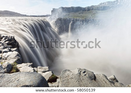 Dettifoss - Iceland - stock photo