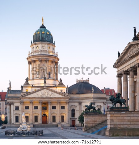 Deutscher Dom in Berlin - stock photo