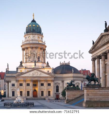 Deutscher Dom in Berlin - stock photo