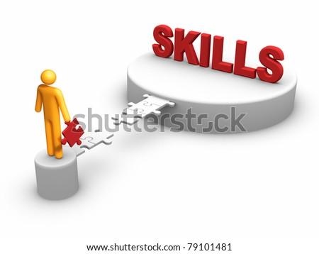 Developing Skills - stock photo