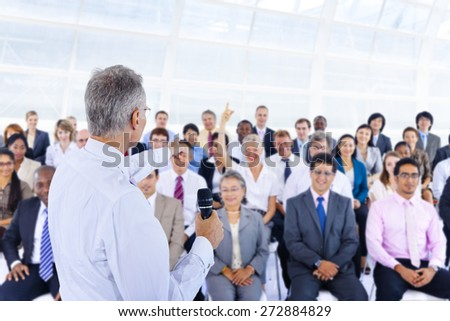 Deversity Business People Corporate Team Seminar Concept - stock photo