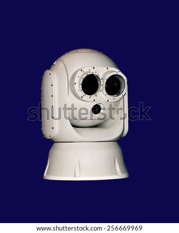 Device for detecting objects in infrared spectrum - stock photo
