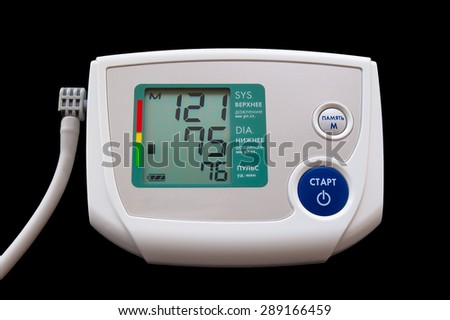 Device for measuring blood pressure