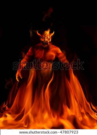 devil - stock photo