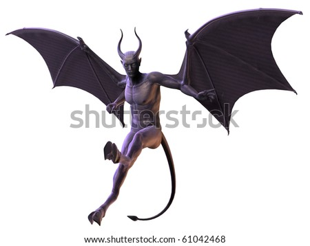 Devil - Horror Figure - stock photo