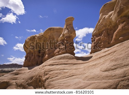 Devils Garden in Utah - stock photo