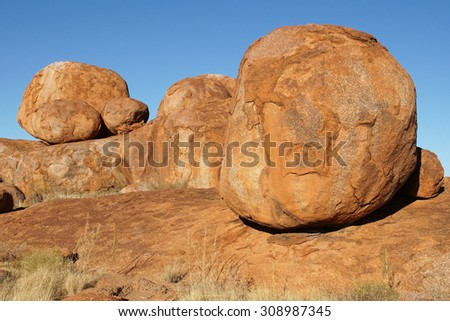 Devils Marbles, Stuart Highway, Northern Territory, Australia