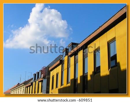 Diagonal - stock photo