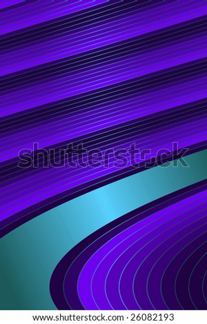 Diagonal lilas and blue  stripes  background - stock photo