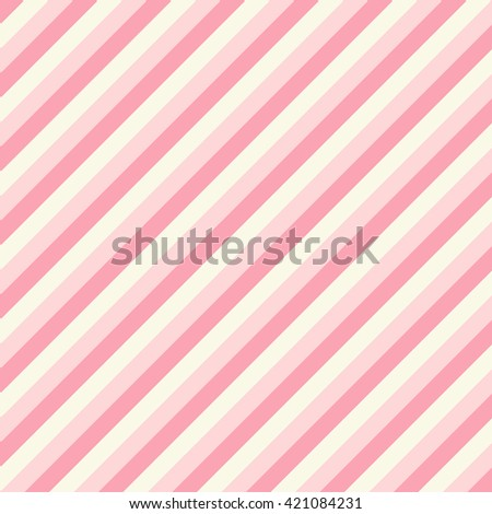 Diagonal pink background with lines - stock photo
