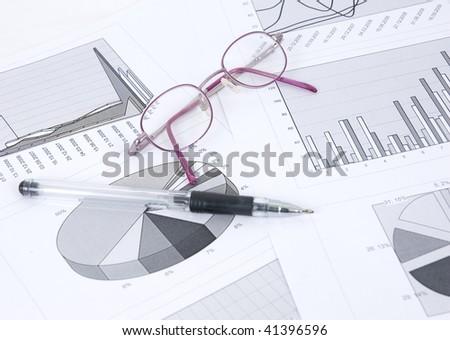 diagram - stock photo