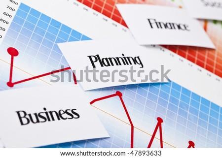 Diagram concept - stock photo