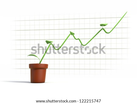 Diagram showing environmentally friendly growth data stock diagram showing environmentally friendly growth in data ccuart Image collections