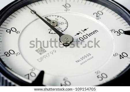 Dial gauge - stock photo