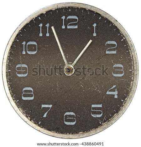 Dial mechanical watches - stock photo