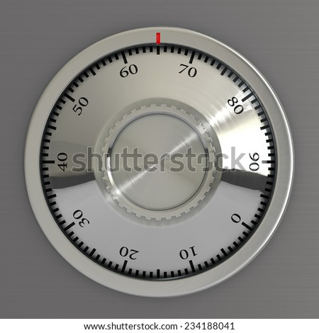 Dial of safe