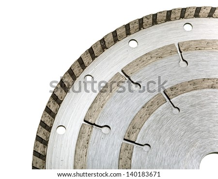 Diamond discs for  cutting - stock photo