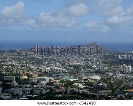 Diamond Head Crater Hawaii Oahu