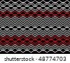 Diamond-link Deco - stock photo