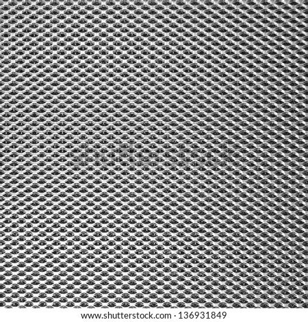 diamond mesh texture - stock photo
