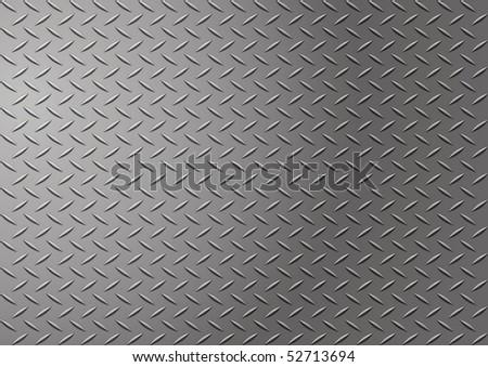 diamond metal background - stock photo