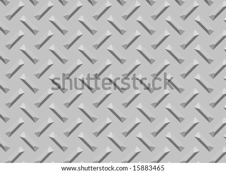 Diamond Metal plate texture