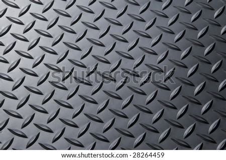 Diamond-plate background. - stock photo