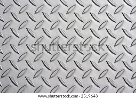 diamond plate photo good background image for the web - stock photo