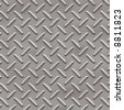 Diamond plate texture background - stock photo
