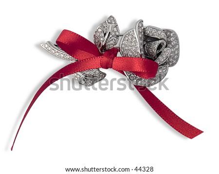 Diamond Rose - stock photo