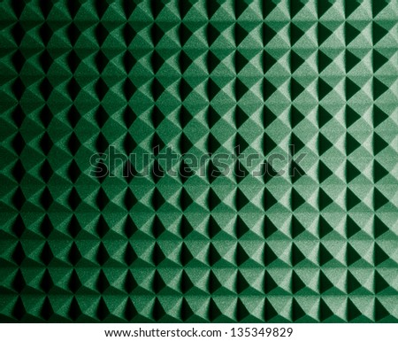 Diamond Shaped Rubber Foam Texture, Background - stock photo
