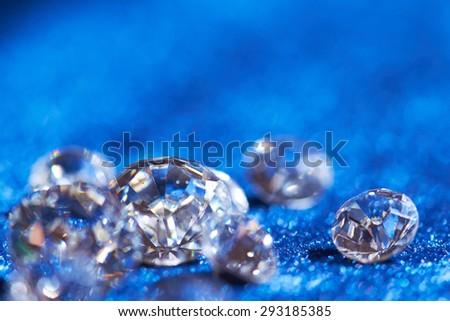 diamonds - stock photo
