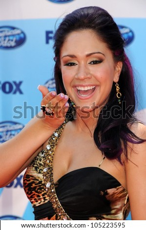 Diana Degarmo  at the 'American Idol' Grand Finale 2009. Nokia Theatre, Los Angeles, CA. 05-20-09