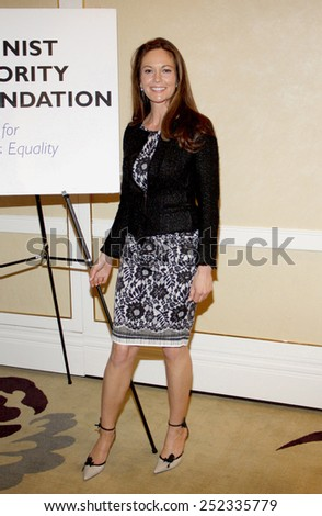 Diane Lane at the Feminist Majority Foundation's 25th Anniversary held at the Beverly Hills Hotel in Beverly Hills, California, United States on May 1, 2012.  - stock photo