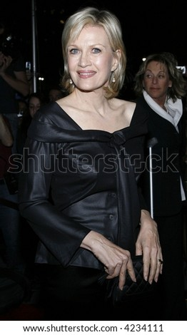 Diane Sawyer - stock photo