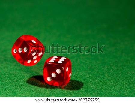dice for gambling/dice for gambling - stock photo