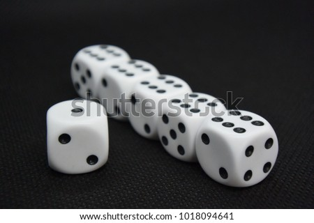 dice throw bad luck