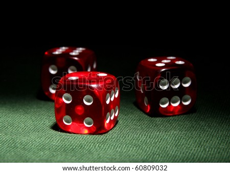 Dices - stock photo