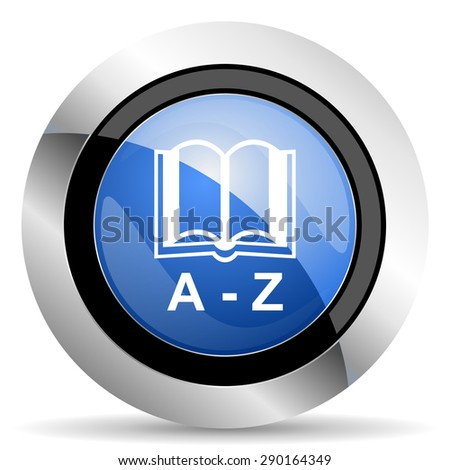dictionary icon  original modern design for web and mobile app on white background  - stock photo