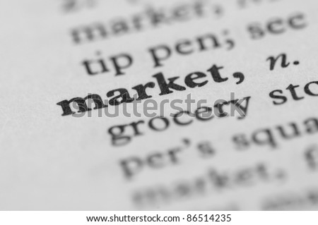 Dictionary Series - Market