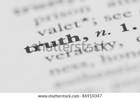 Dictionary Series - Truth