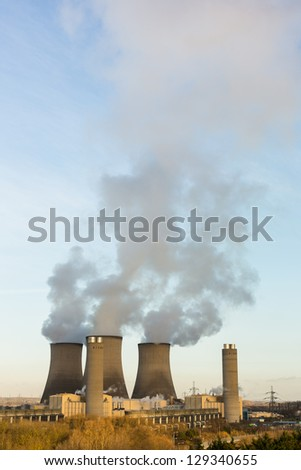 Didcot Power station, Oxfordshire, England - stock photo