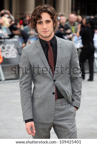 Diego Boneta arriving for the Rock Of Ages Premiere, Odeon Leicester Square, London. 10/06/2012 Picture by: Alexandra Glen / Featureflash