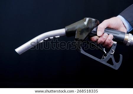 Diesel Fuel Nozzle - stock photo