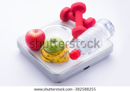 Diet and nutrition - stock photo