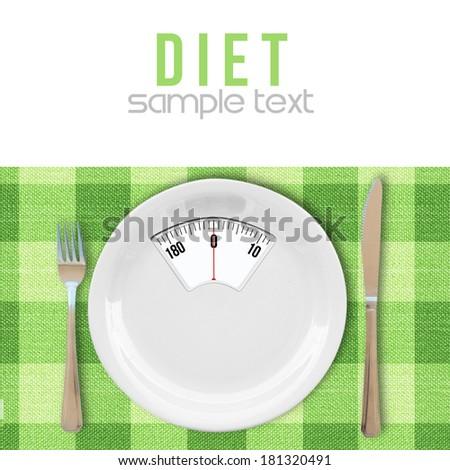 Diet concept - stock photo
